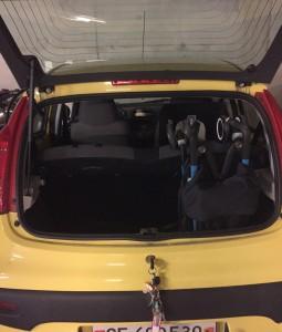 Coffre de Peugeot 107